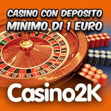 casino deposito minimo 1 euro paypal