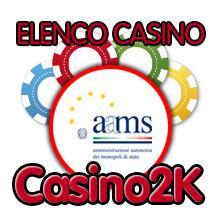 Elenco casino online autorizzati aams