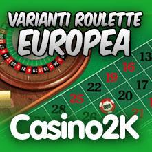 Roulette europea gioca gratis