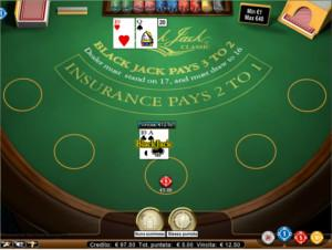 Il blackjack di MrGreen Casino